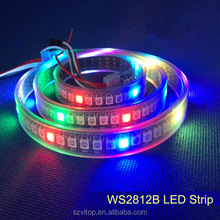 New Tape 5050 30led WS2812B led pixel light strip IP68 wterproof in silicon tube 30pcs with 30pixels 36W white board DC5V