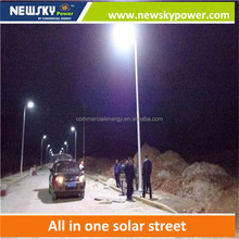 Outside lighting all in one solar street light, led light for street, garden, parking lot