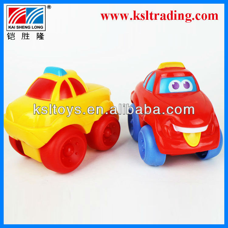 6 styles friction power kids plastic transport cars toy
