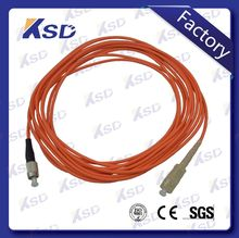 2016 hot sale FC-SC St Connectors Indoor Outdoor Armored FC-SC Fiber Optic Cable Patch Cord jumper wire