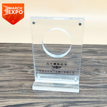 Custom clear a4 plexiglass magnetic vertical a5 table display stand acrylic menu holder