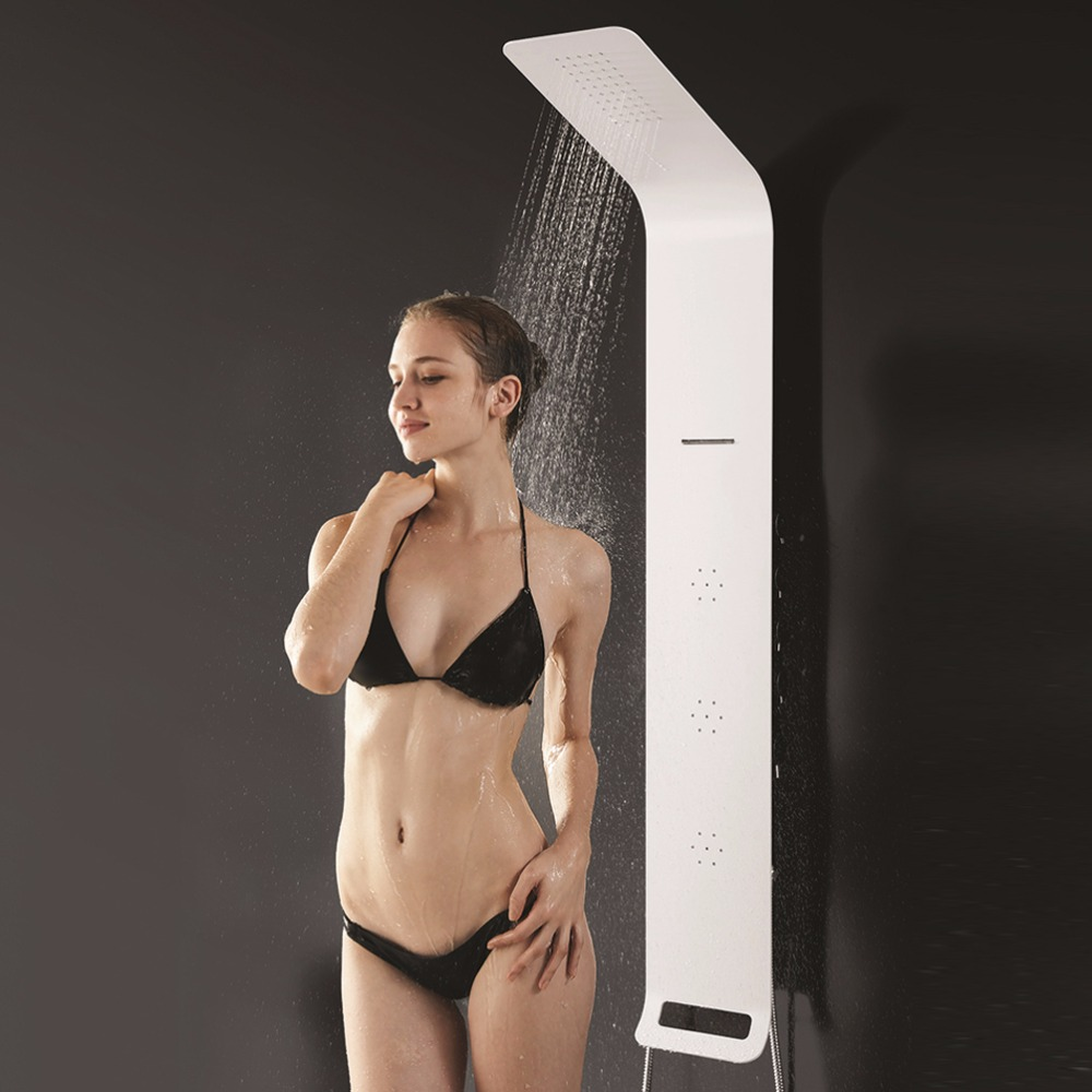 2016 Popular Bath Shower Italy Design Aluminum Alloy Shower Panel - A051