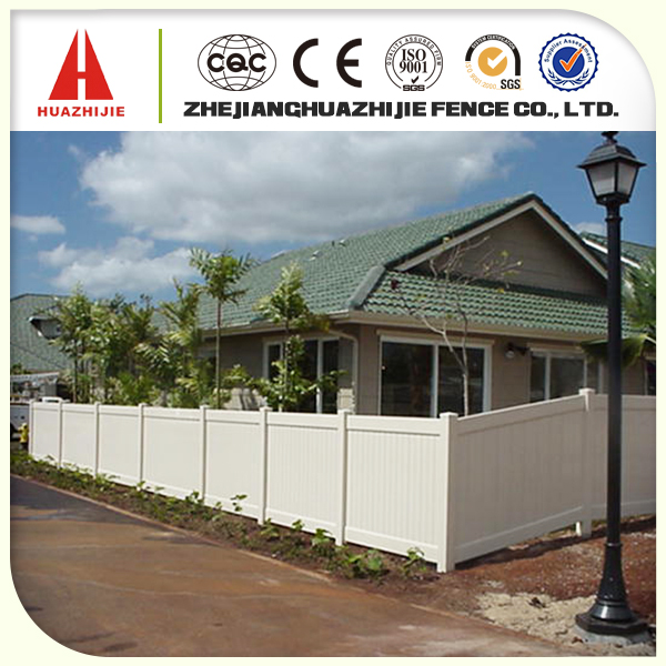 Wood plastic composite wall fence panels