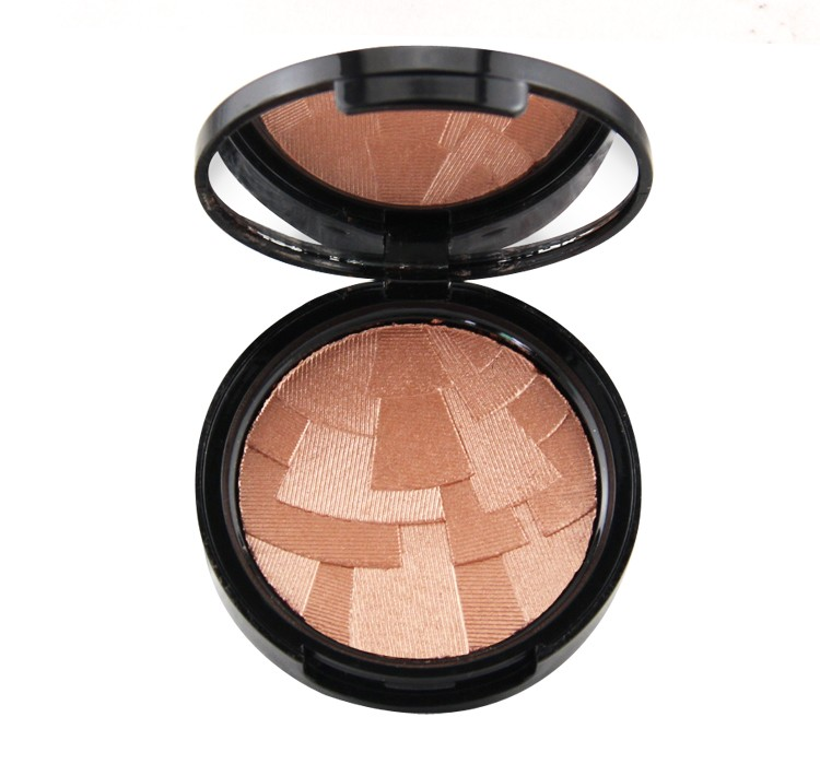 2016 glowing pressed powder compact press powder