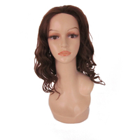 Chinese Gloden Supplier 100% Brazilian Human Remy Hair front lace Wigs With skin net baby hair