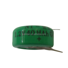 1.2v 40mah nimh button cell Yes rechargeable