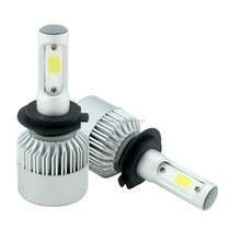 Factory 8000LM High Power 30W S2 H3 H13 Auto motorcycle car LED Headlight with SEOUL COB chip