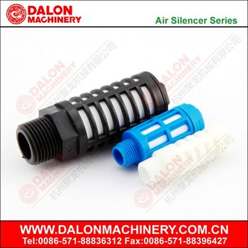 plastic sintered silencer