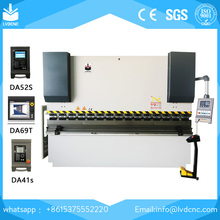 CNC Computer Numeric Control Hydraulic Bending Machine /pipe press brake machine for 2013 European Standard