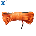J-MAX 12 strand 12mm*45m synthetic 4x4 ATV winch ropes for off-road car