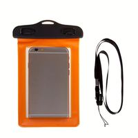 mobile phone waterproof case for iphone6 with side window