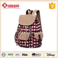 Own brand Christmas backpack retro backpack lowest price for college student