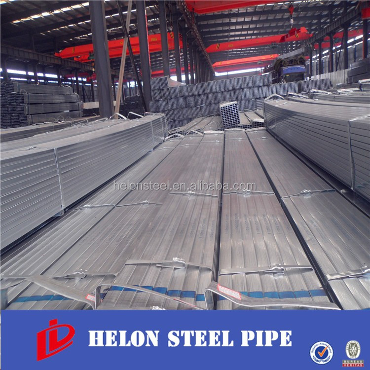China Manufacturer Zhaolida Pre Gi Square/Rectangular Steel Pipe/Tube