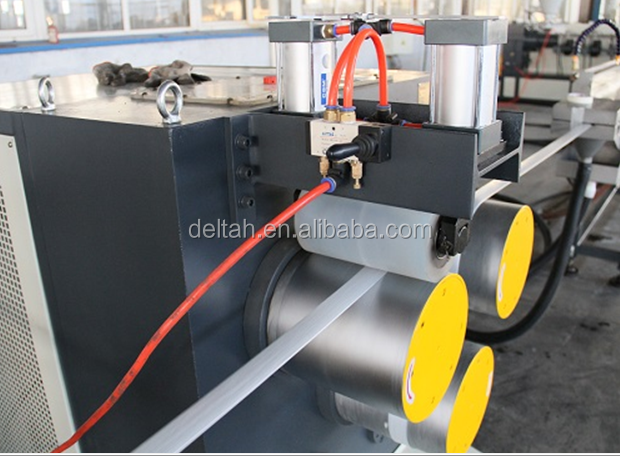 polyester fiber yarns reinforced strap production line producing machine Fiber and plastic Soft packing straps machine