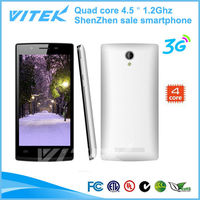4.5 inch kitkat quad core 1.2Ghz china mobile phone android note