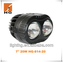 New arrival !! bright waterproof IP68 2*10w 20w led driving/work light for off road 4x4,SUV,ATV,4WD,truck,vehicle,excavator