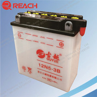 Factory Direct Sale 12N5-3B 12V 5Ah Rechargeable Battery for Motorcycle