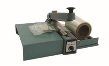 heat polythene bags hand impulse sealing machine with cutter with pallet