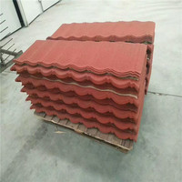 round asphalt shingles stone coated roof tile