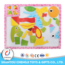 Hot selling educational toy matching magnetic puzzles for adults