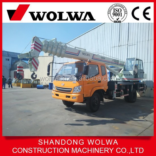 5 section boom truck cran feature hydraulic Truck Crane