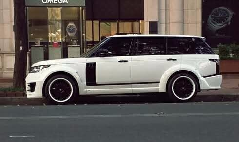 NEW body kit fit for RR vogue change into LUM- style frp material High quality