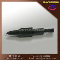 Factory price Mini steel bullet customized processing 125 grain black