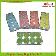 Wholesale Scented Tea Lights Candles/Candles For Spa