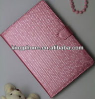 Ball pattern leather case for mini Ipad,with factory price