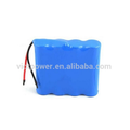 Lithium 18650 battery pack 14.8V 3100mAh 4S1P battery pack with BMS