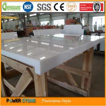 Hotsale Glass Crystal White Marble Countertops