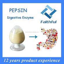 China supplier high quality pepsin/cure indigestion/active pharmaceutical ingredient pepsin