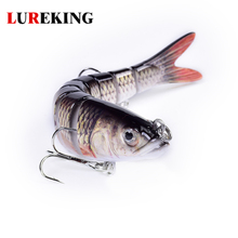 Wholesale 8 Section Trout Lures Fishing Swimbait, 8-Segment Multi Jointed Fishing Hard Lure