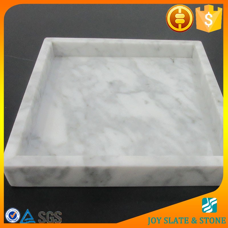 Chinese supplier marble jewelry tray