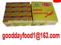 Anhui Factory supply instant seasoning bouillon cubes of shrimp crevette flavour