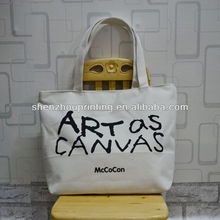 Green China Manufacturer rNew Style 100% Cotton Custom Logo Shoulder Tote Bag Cotton Canvas Tote Bag