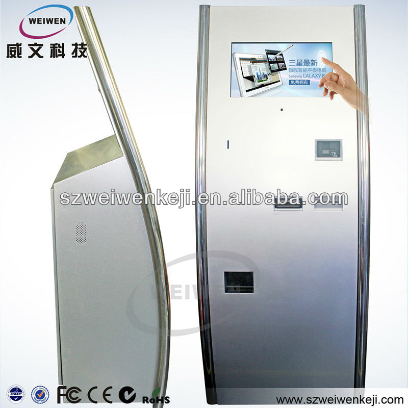 wifi card reader point of sales system self service kiosk