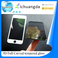 3D curved tempered glass screen protector for iphone 6