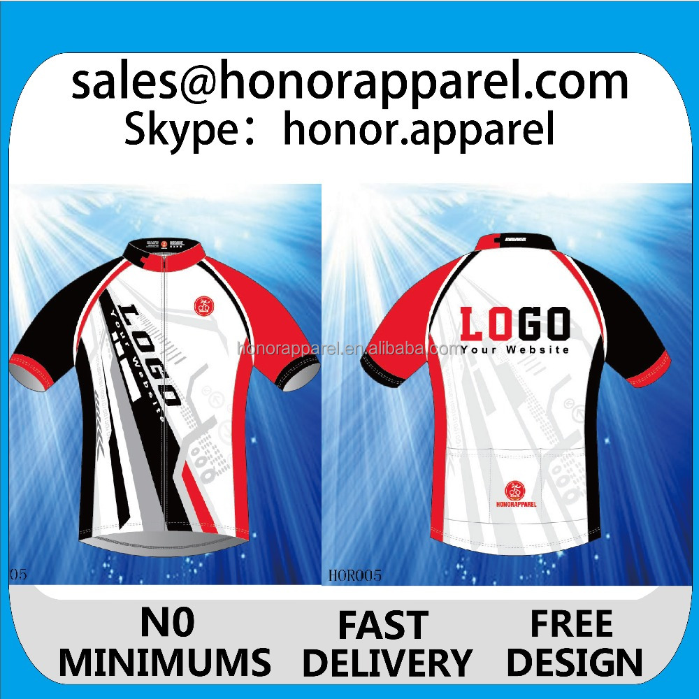 2017 OEM and ODM high quality best price Cycling Jersey Custom Fashion Bicycle wear