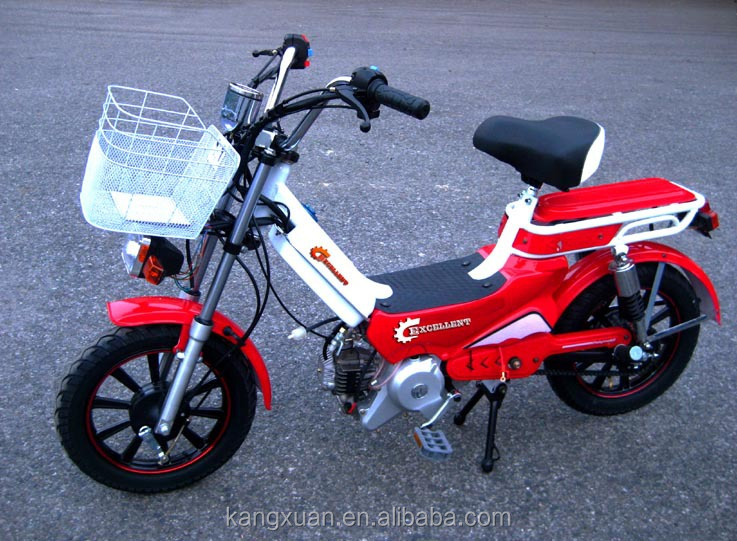 Motorized Bicycle With Pedal And 35cc 50cc Engine View