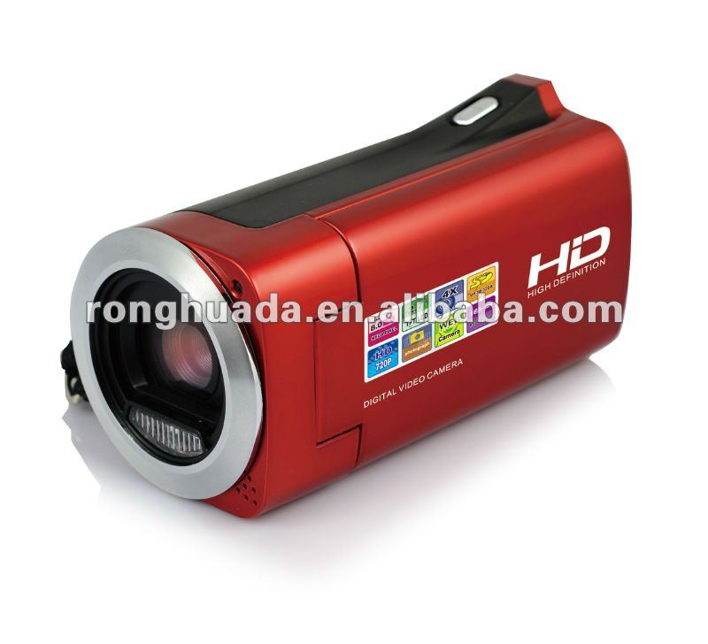 "China New fashional digital video camera camcorder,8mega pixels,2.7""TFT LCD and lithium battery pwoer"