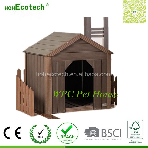 fire-proof composite wood plastic composite chicken coop