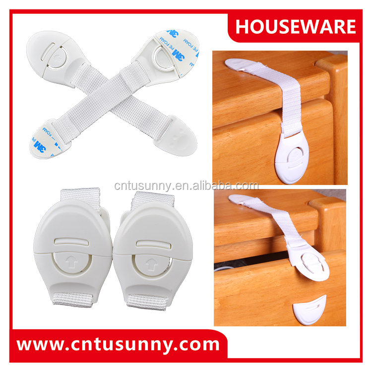 multi functional adhesive fix child safety lock