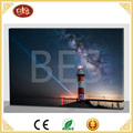 cheap lighthouse design for led canvas painting
