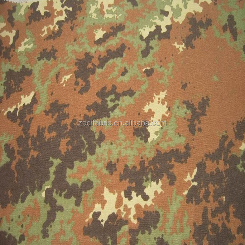 dupont cordura 1000d italy camouflage oxford of military bag fabric