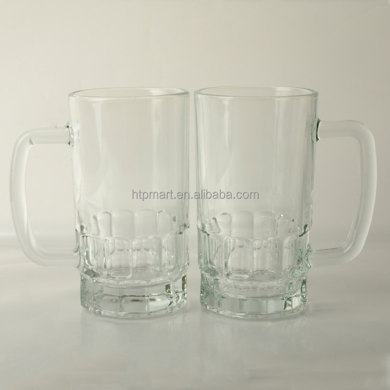 high quality blank beer glass mug/cup/stein large capacity