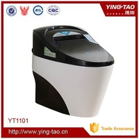 Energy-saving automatic toilet with lady wash function bathrom ceramic color wc