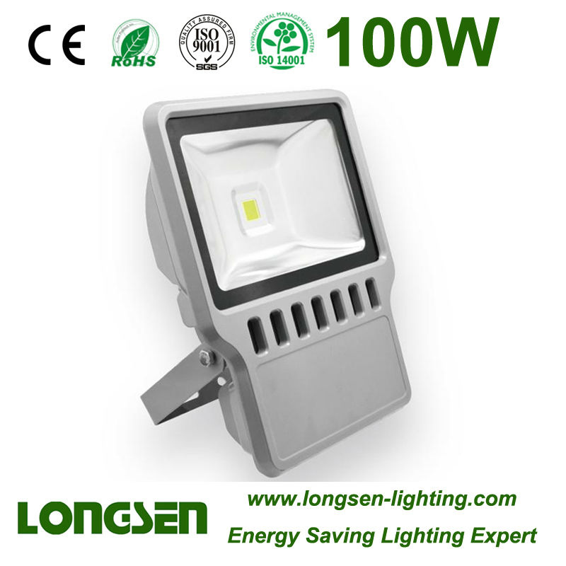 100W Tri-proof LED Floodlight Meanwell Driver
