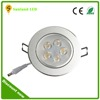 Alibaba china 5*1w high quality aluminum home shop recessed led ceiling lights