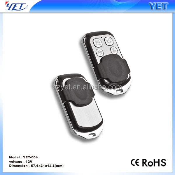 remote control for car burglar alarm sensor YET004